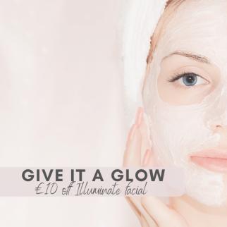 10 off illuminate facial at hair ministry cover