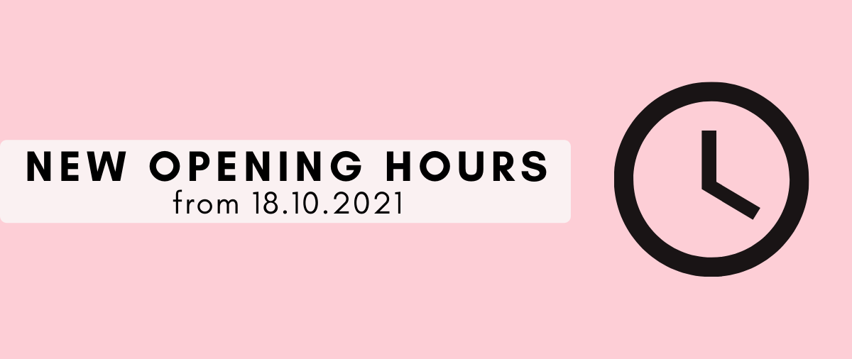 New opening hours at hair ministry banner