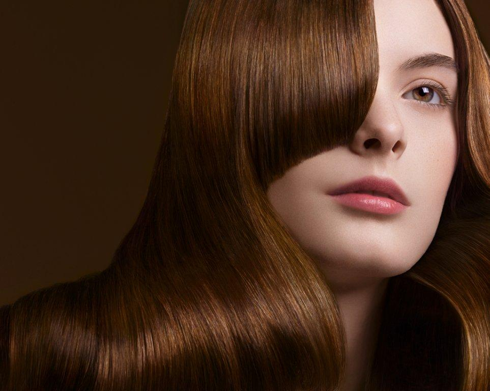 how to get hair color off your face
