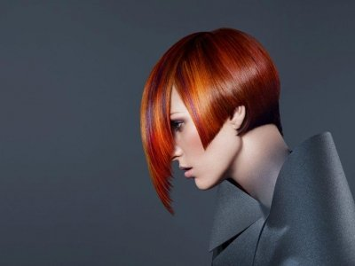 hair cuts and hairstyles hair Ministry Ipswich red hair colour graduated bob