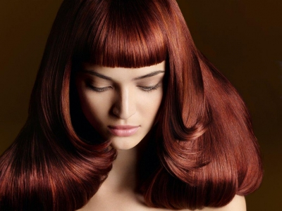 hair cuts and hairstyles hair Ministry Ipswich red hair colour fringe