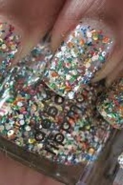glittery-nails