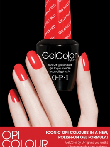 OPI gel nails shellac CND nails two week nail varnish polish